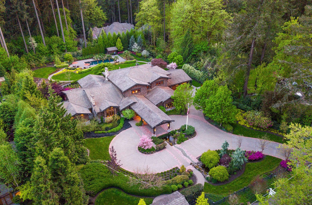 A Spectacular Estate In Portland By LUXE Christie's International